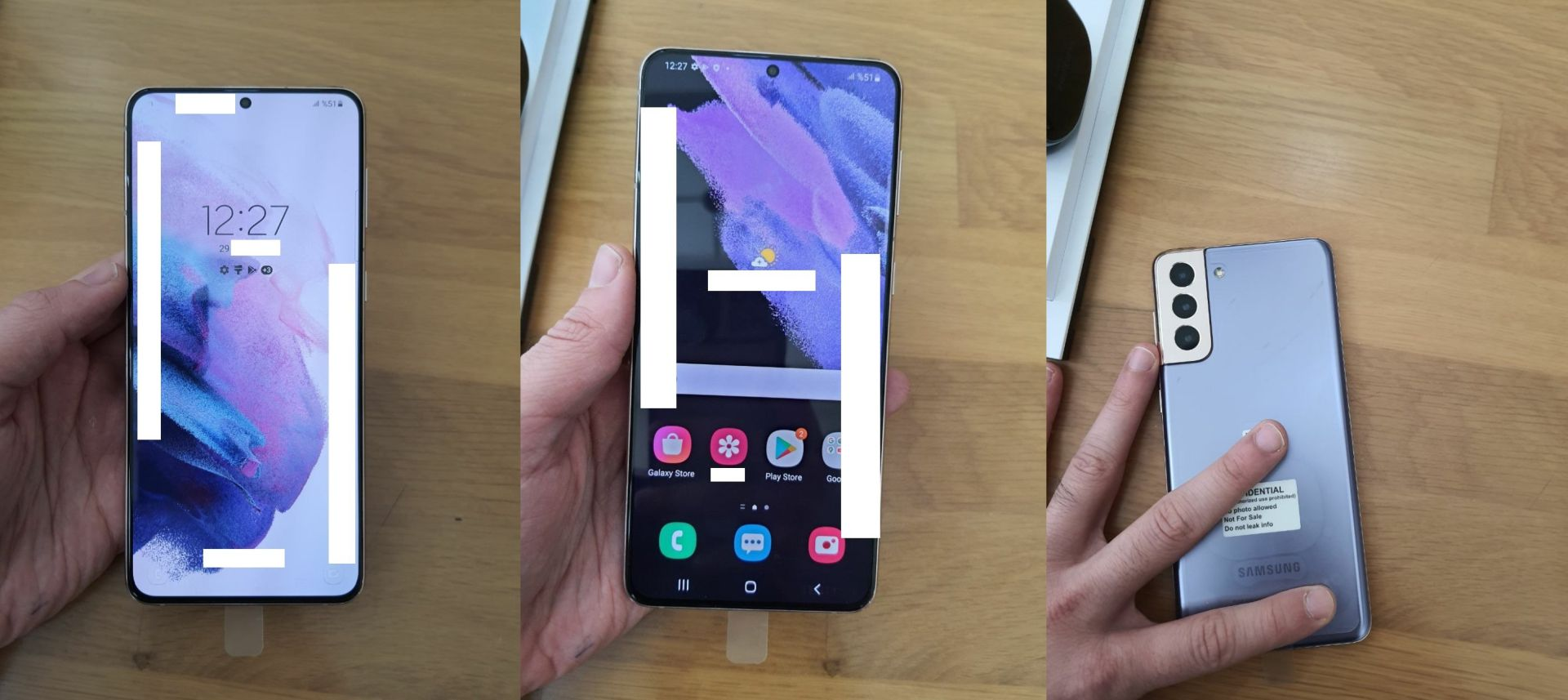 Samsung Galaxy S21 imagens hands-on
