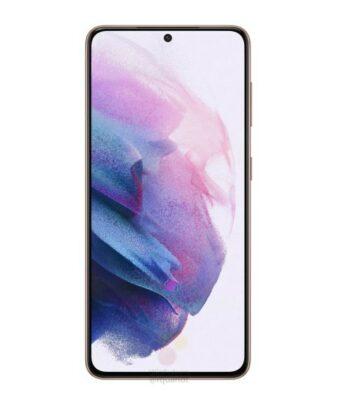 Samsung Galaxy S21 Purple Display