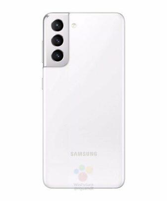 Samsung Galaxy S21 White Rear