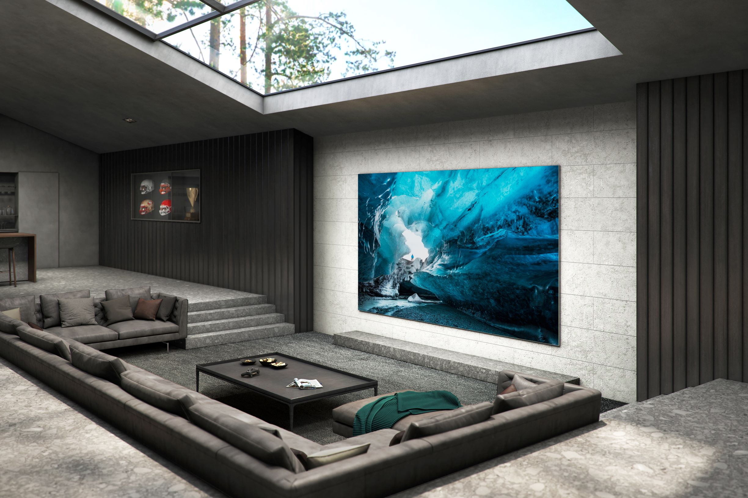 Samsung Announces 110-Inch MicroLED TV