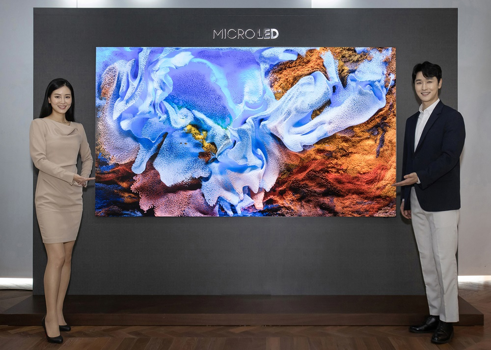 Samsung MicroLED TV 110-Inch Launch South Korea