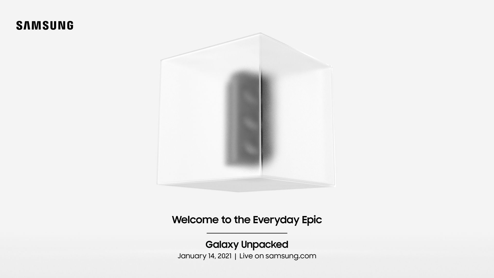 Samsung Galaxy S21 Unpacked evento oficial