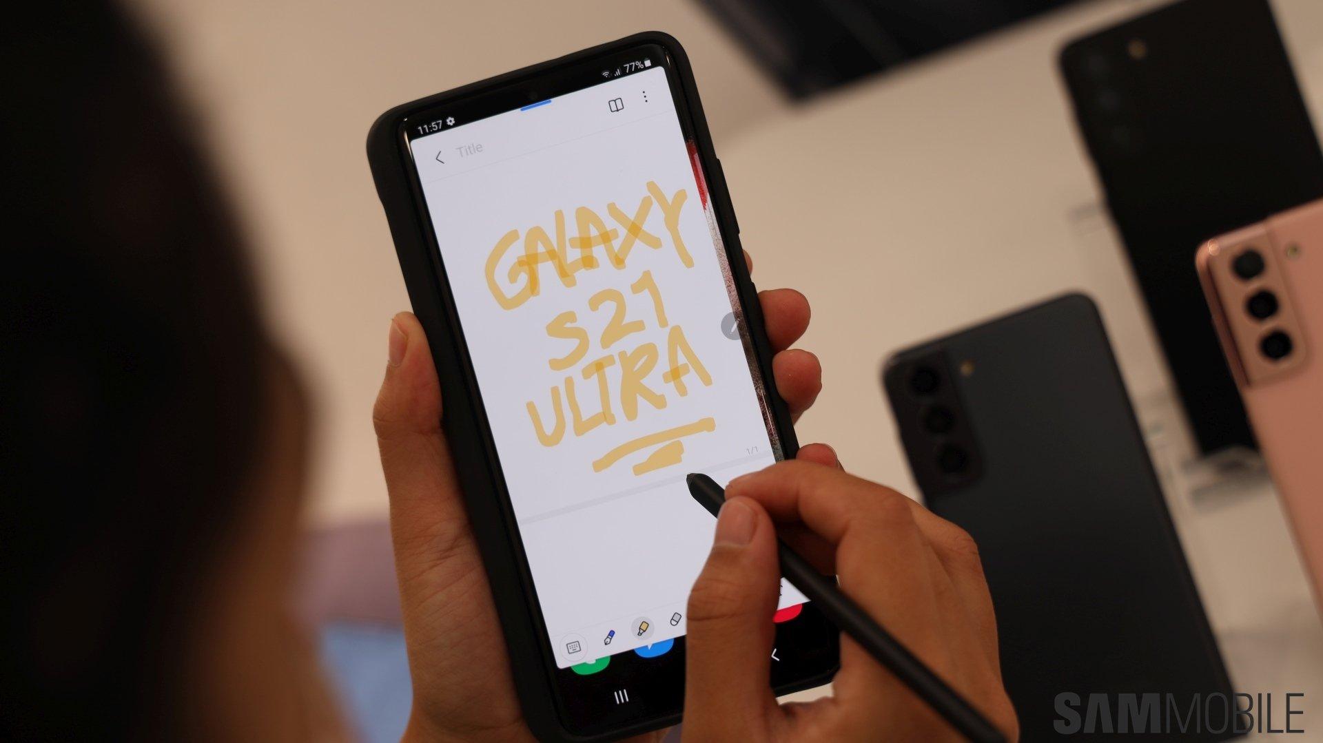 Samsung Galaxy S21 Ultra hands-on: The best just got better