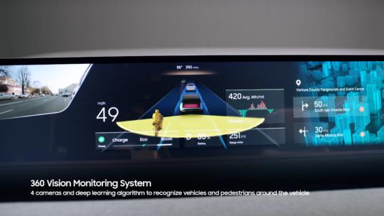 Samsung Digital Cockpit 2021 Driving Safety