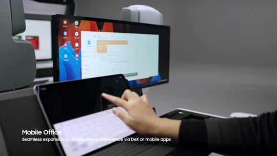 Samsung Digital Cockpit 2021 Wireless DeX