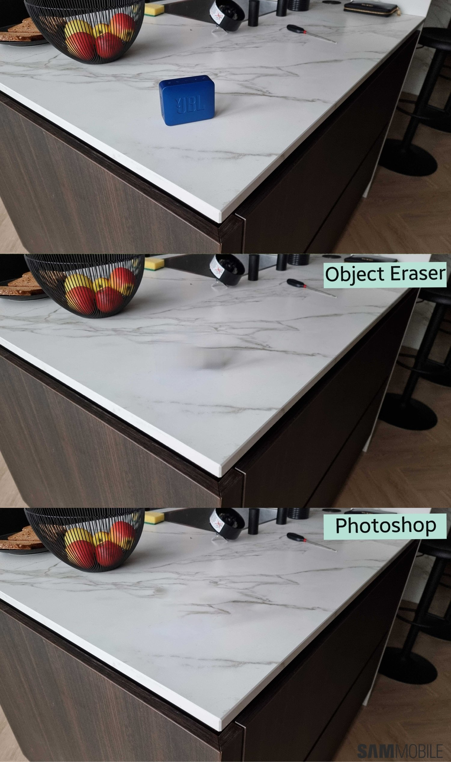 Galaxy S21 Object Eraser vs Photoshop: Does Samsung's AI hold its own?