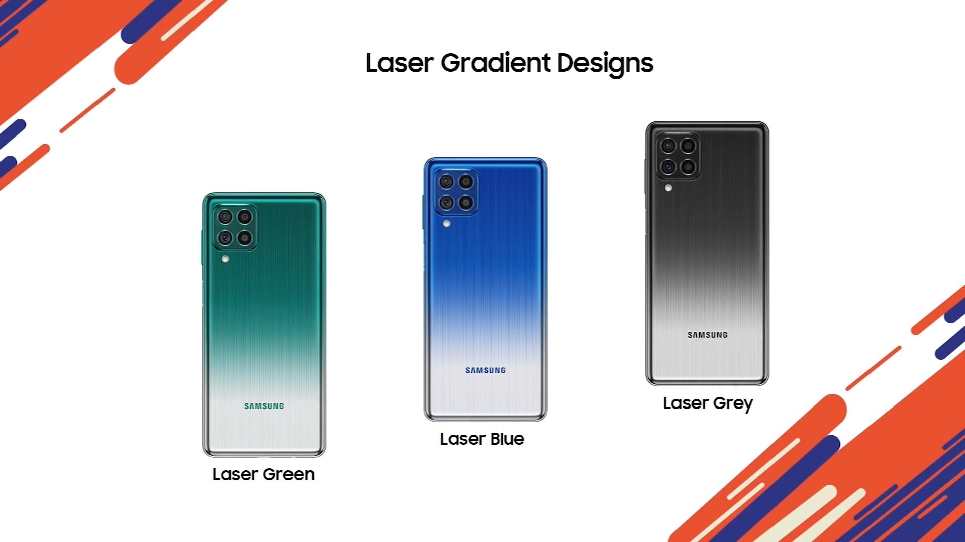 Samsung Galaxy F62 Colors