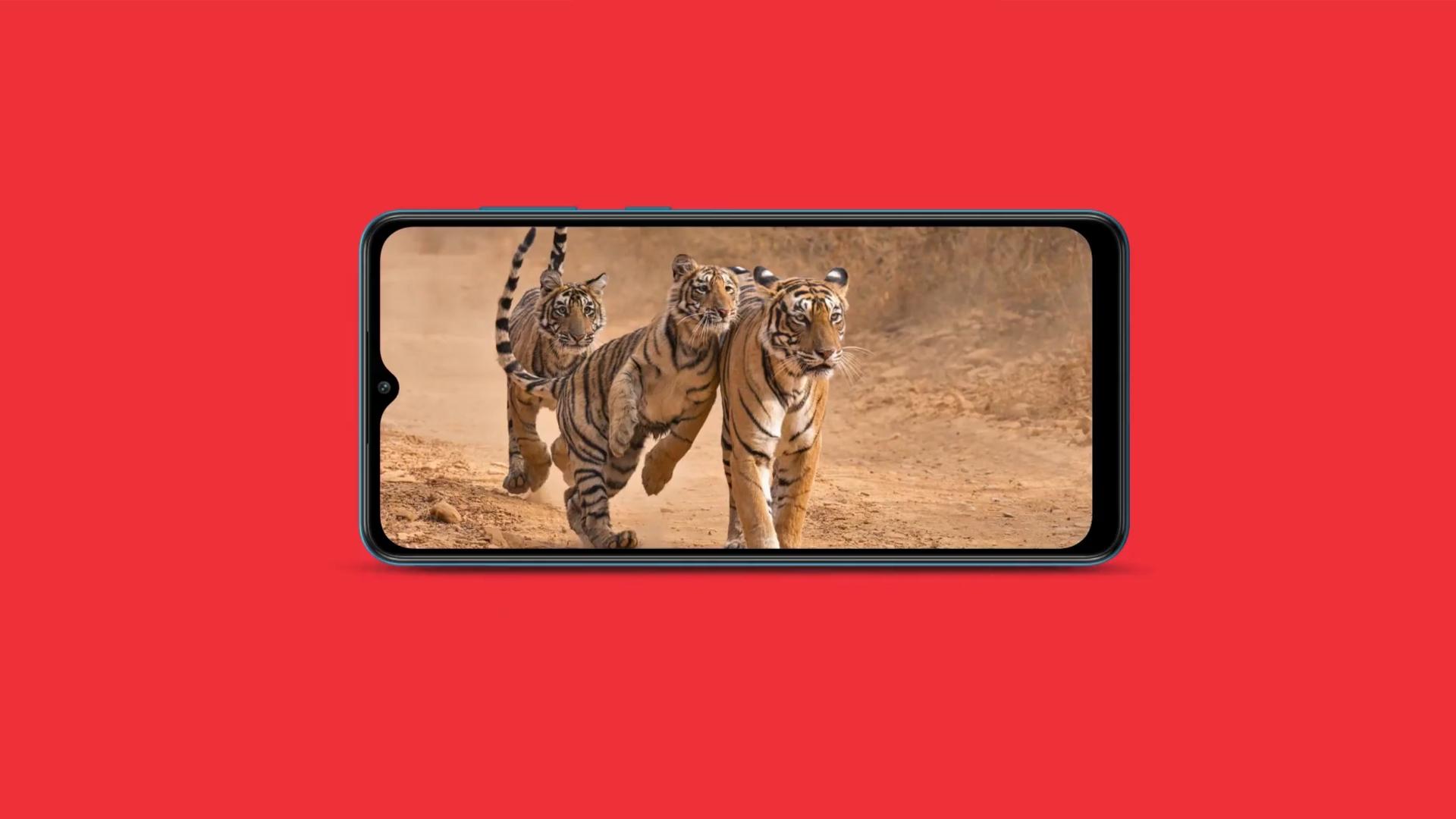 Samsung Galaxy M02 Display