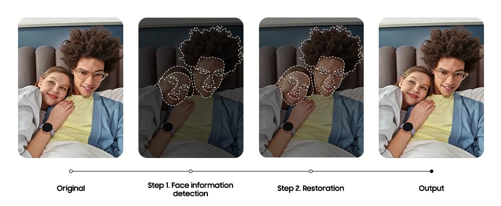 Samsung Galaxy S21 Enhanced Selfies