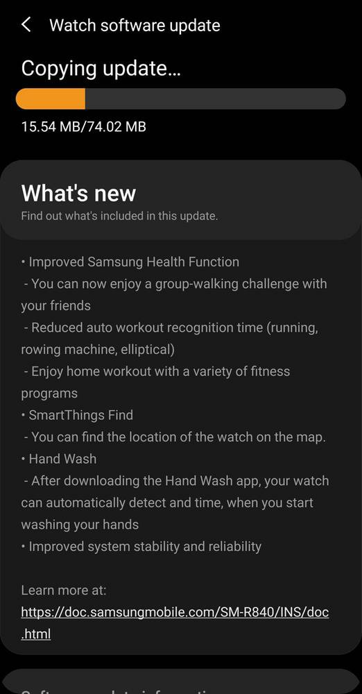 Galaxy Watch 3 gets SmartThings Find with latest software update