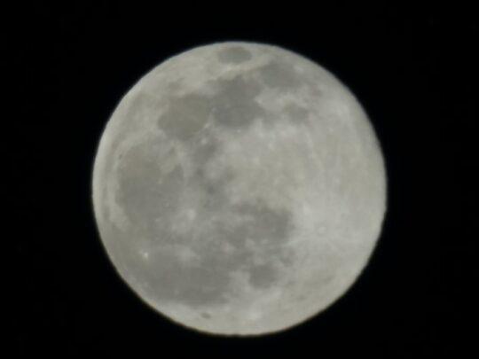 Sony A7R III Moon Photo Zoom Lens