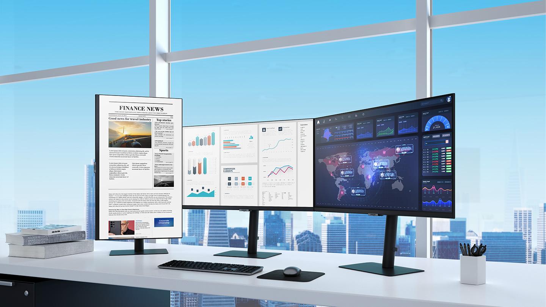 Samsung 2021 Monitor Lineup Multi Monitor Setup