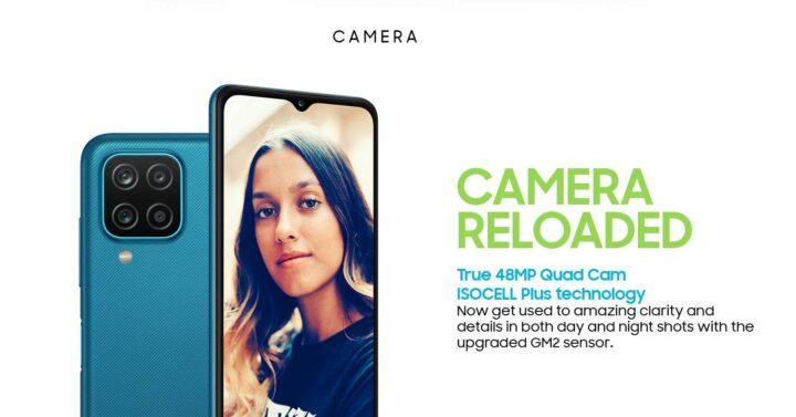 Samsung Galaxy M12 48MP Quad Camera
