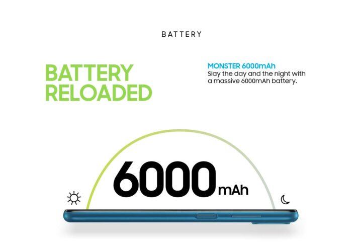 Samsung Galaxy M12 6000mAh Battery