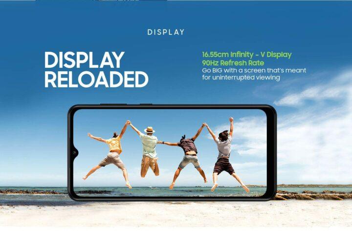 Samsung Galaxy M12 90Hz Display