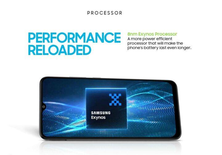 Samsung Galaxy M12 Exynos 850 Processor