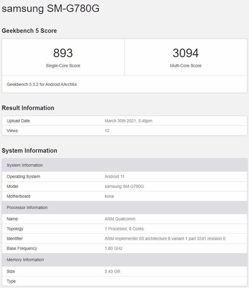 马来西亚或推出搭载高通骁龙 865 芯片的 4G 版本 Samsung Galaxy S20 FE? 2