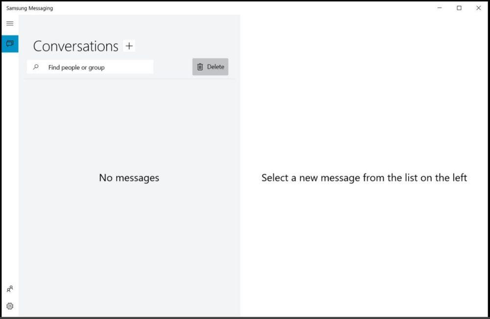 پیامرسان سامسونگ برای ویندوز 10