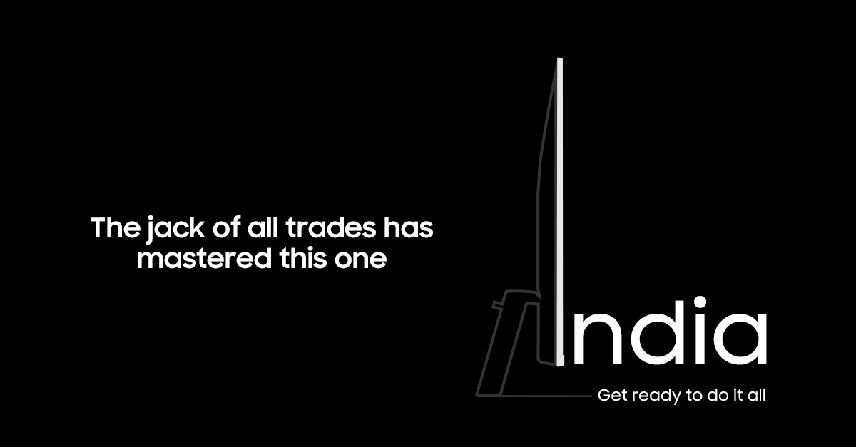 Samsung Smart Monitor India Launch Teaser