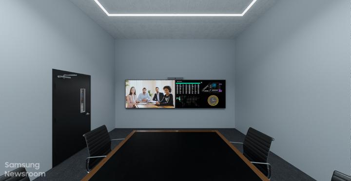 Samsung Display Meeting Rooms