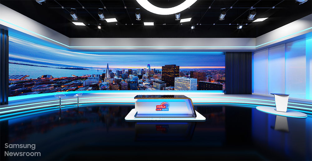 Samsung Future Broadcasting VX Room The Wall