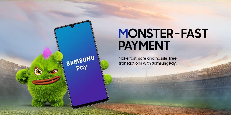 Samsung Galaxy M42 5G Samsung Pay