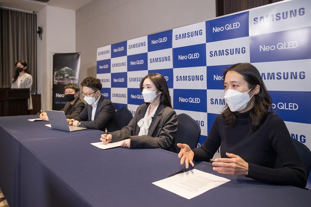 Samsung Tech Seminar 2021 Neo QLED TV