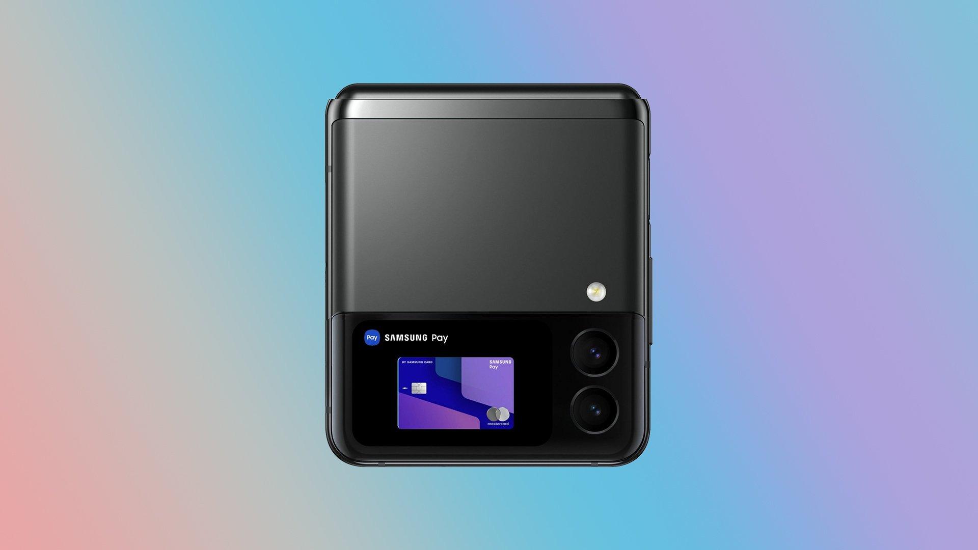 Samsung Galaxy Z Flip 3 Concept Render