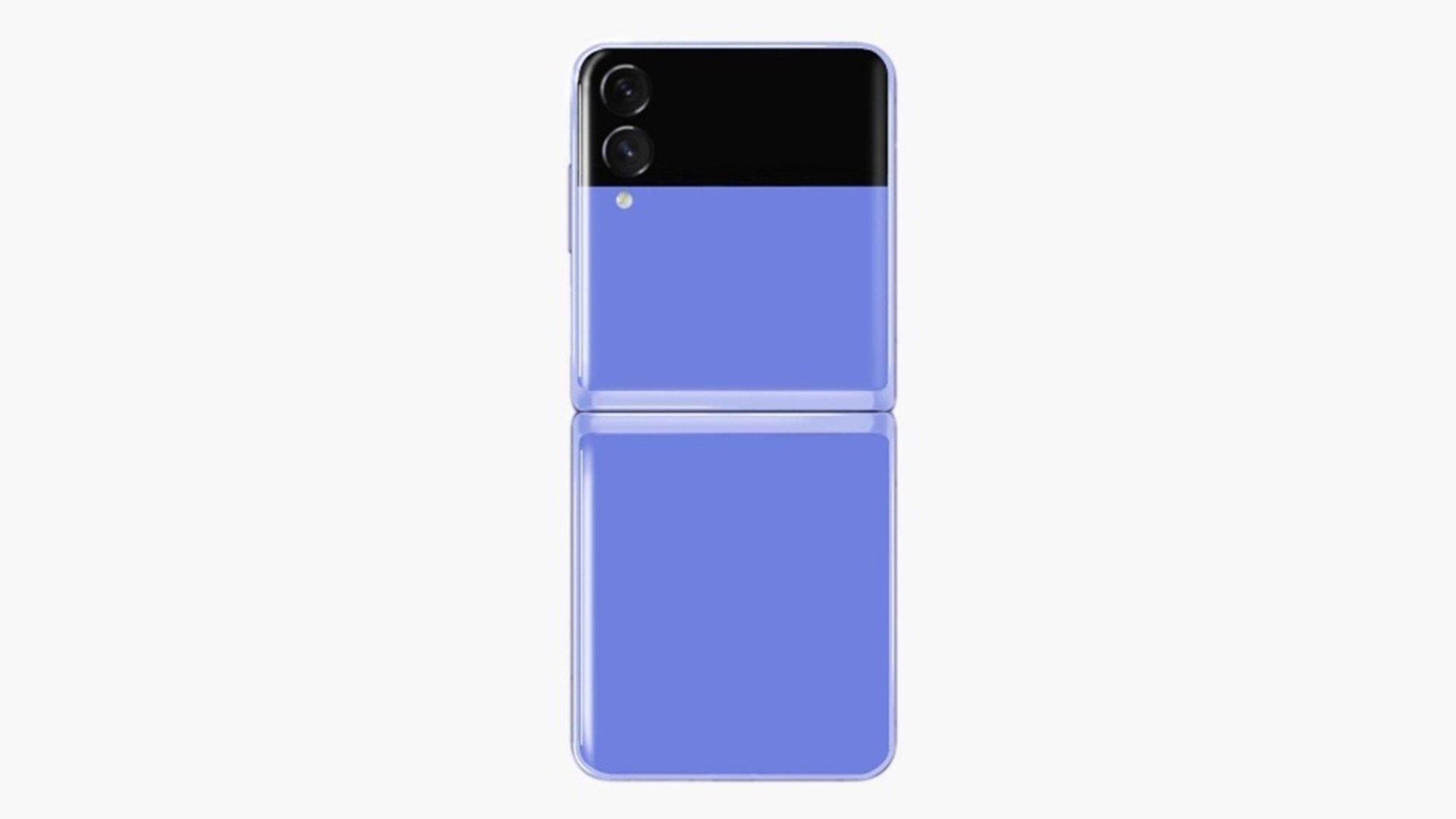 Samsung Galaxy Z Flip 3 Render