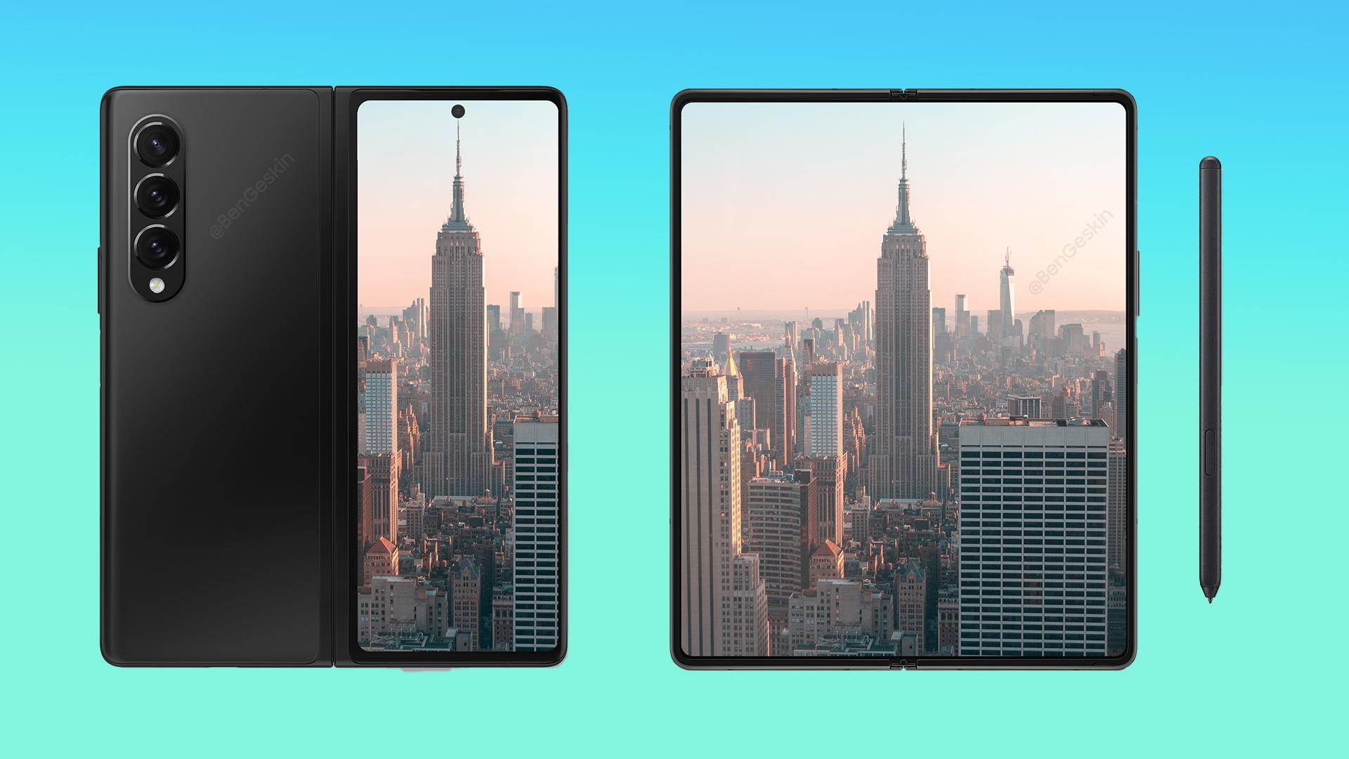 Gawk at these brilliant Galaxy Z Fold 3, Galaxy Z Flip 3 concept images -  SamMobile