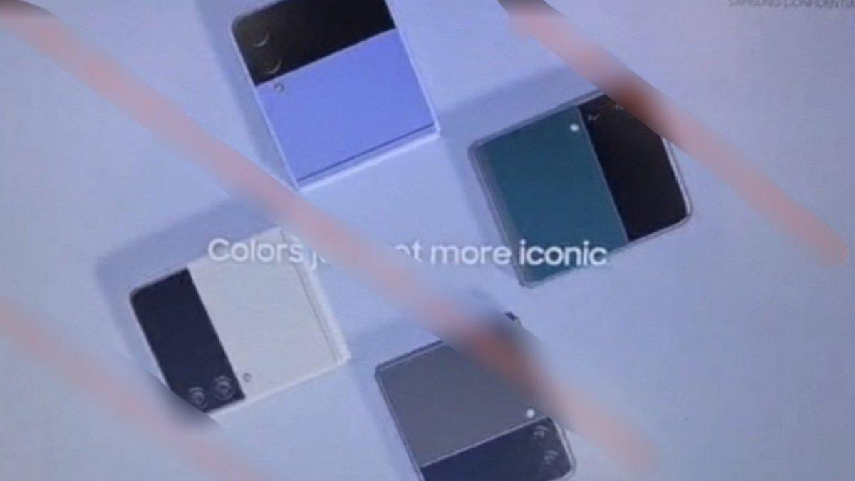 Massive leak confirms new details about the Galaxy Z Flip 3
