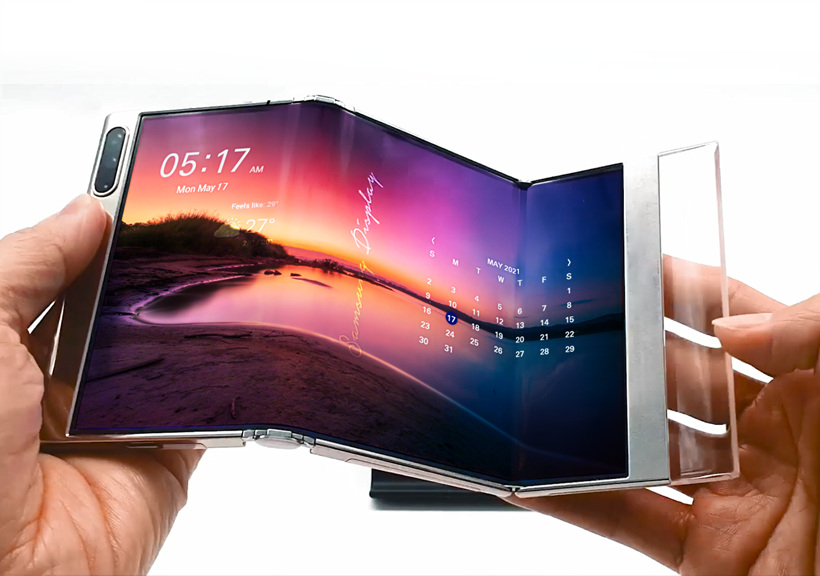 Samsung's new foldable and UDC panels reveal an exciting future