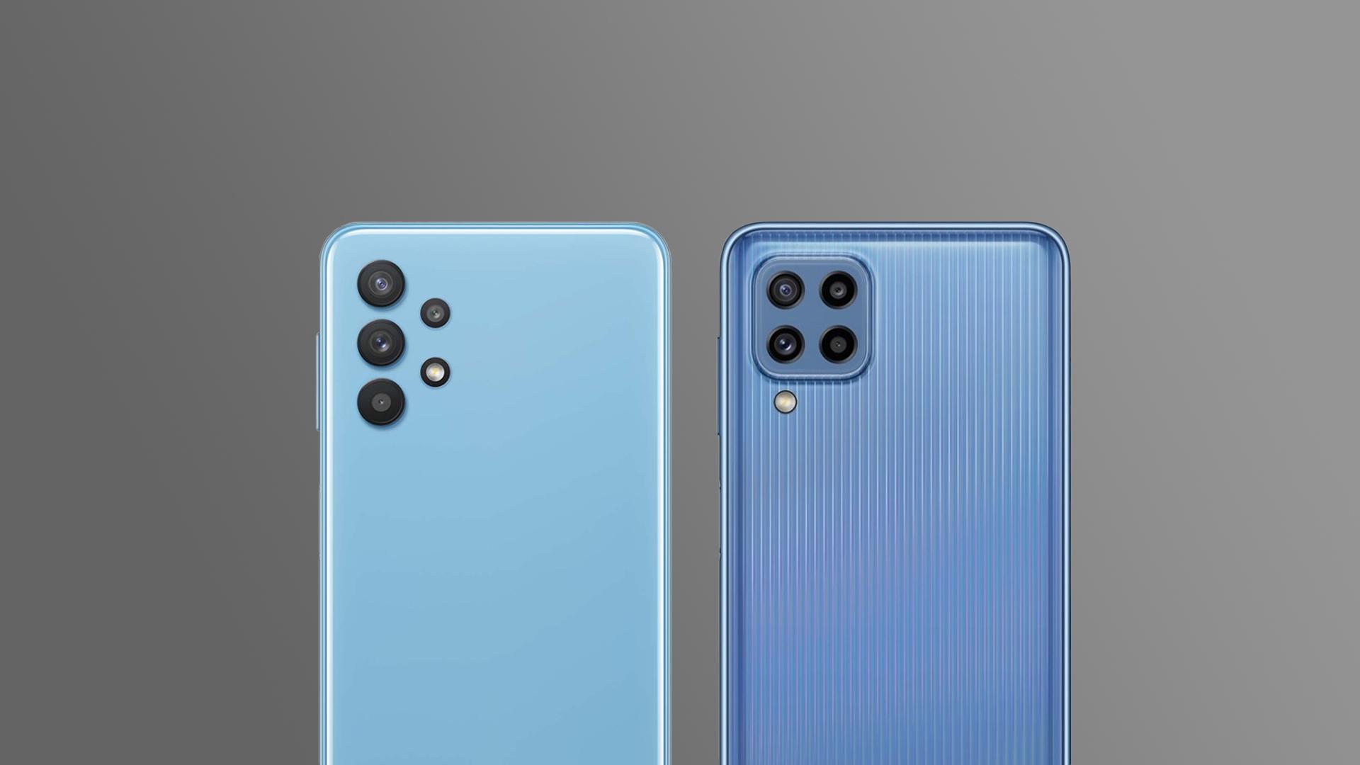 Samsung Galaxy A32 vs Galaxy M32 Camera