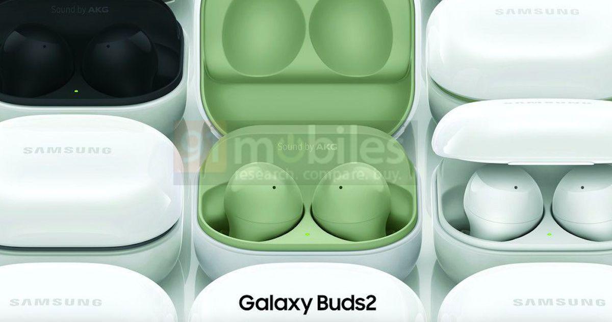 Samsung Galaxy Buds 2 màu xanh lá cây