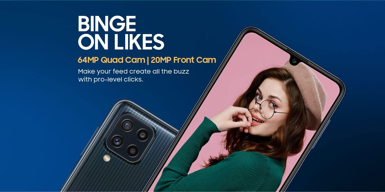 Samsung Galaxy M32 64MP Quad-Camera
