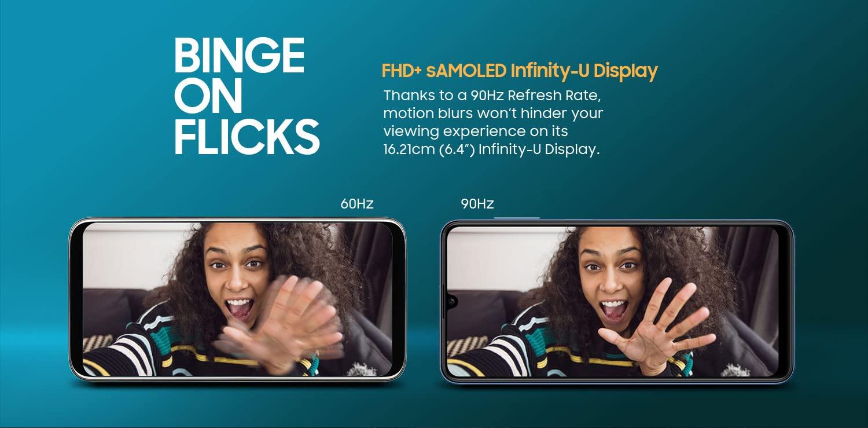 Samsung Galaxy M32 90Hz Super AMOLED Display