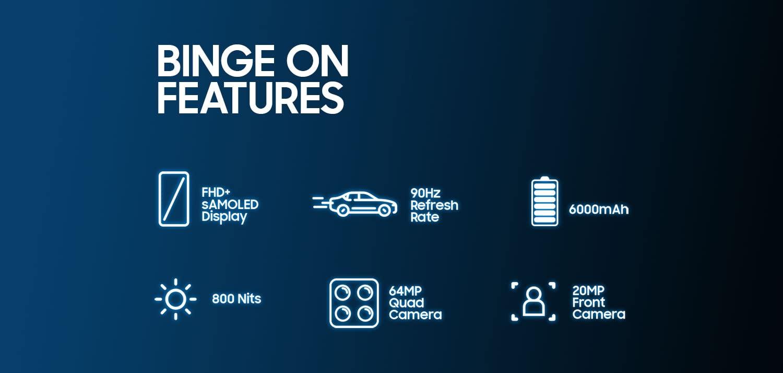 Samsung Galaxy M32 Features