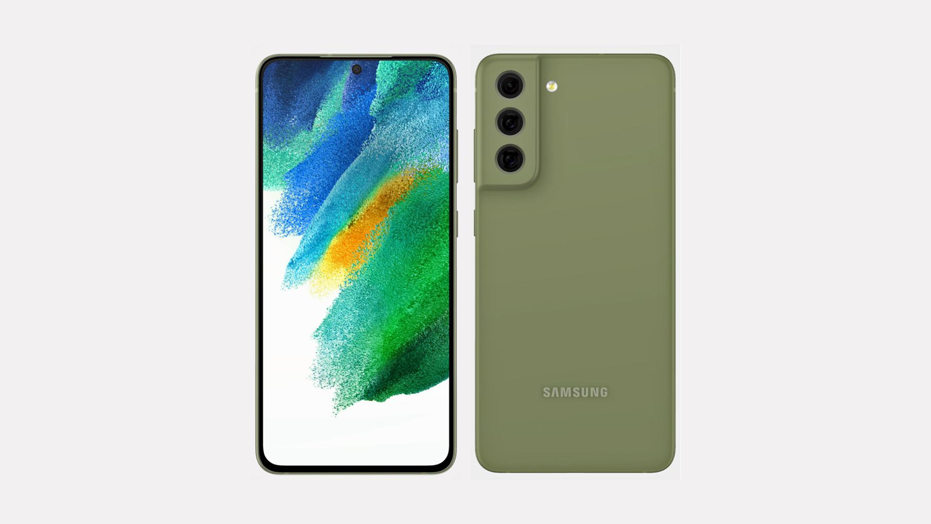 Samsung Galaxy S21 FE Olive Green