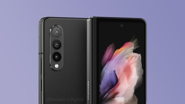 Samsung Galaxy Z Fold 3 Black