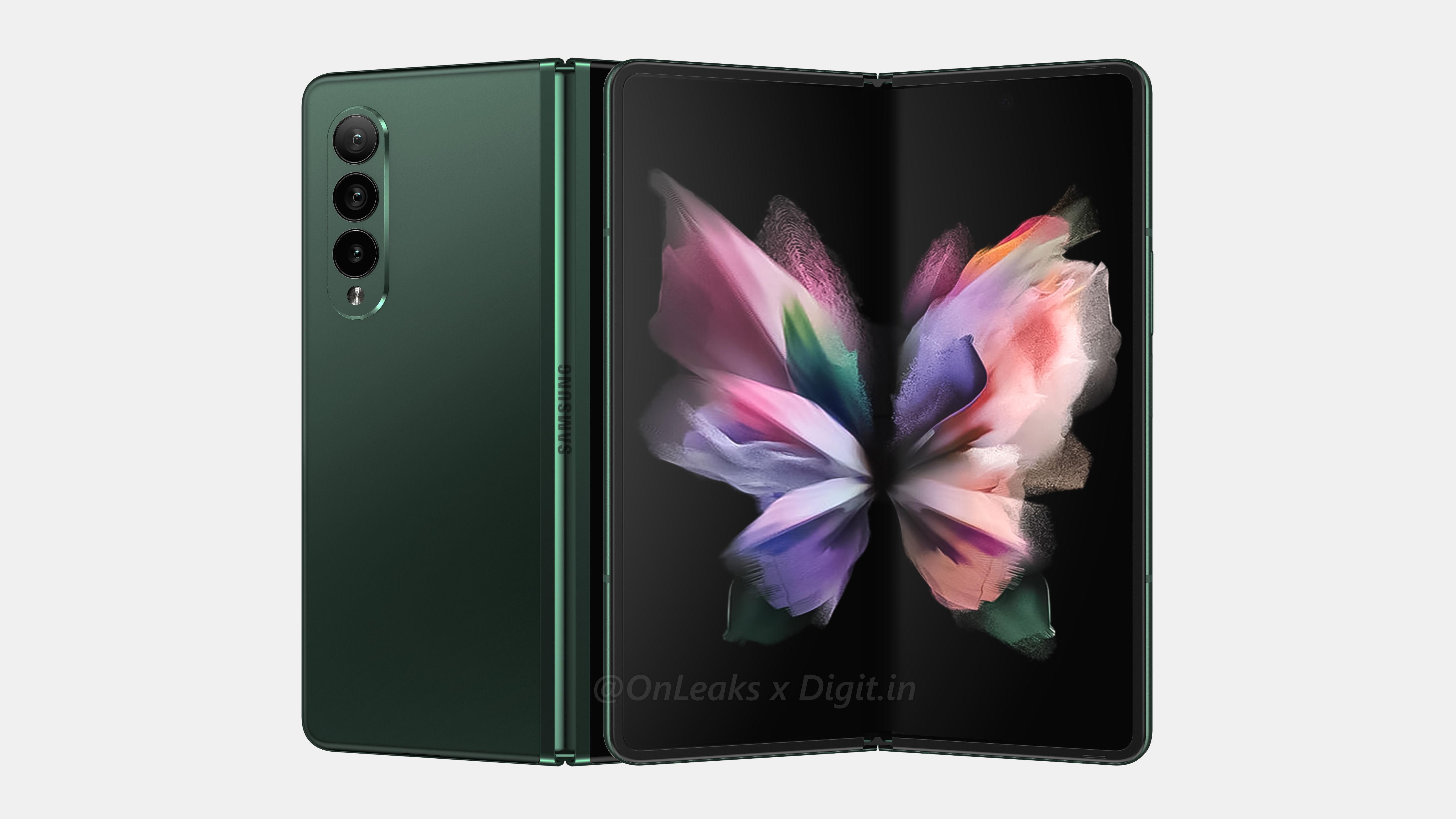 Samsung Galaxy Z Fold 3 Olive Green