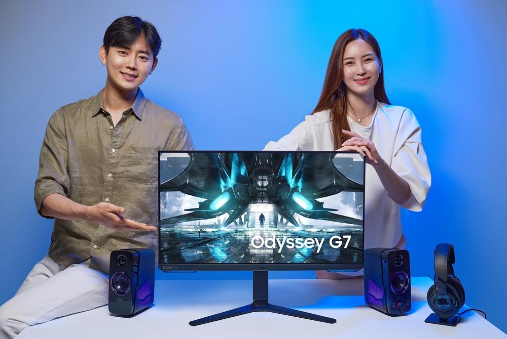 Samsung Odyssey G7 Gaming Monitor South Korea