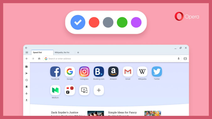 Opera Web Browser For Chome OS