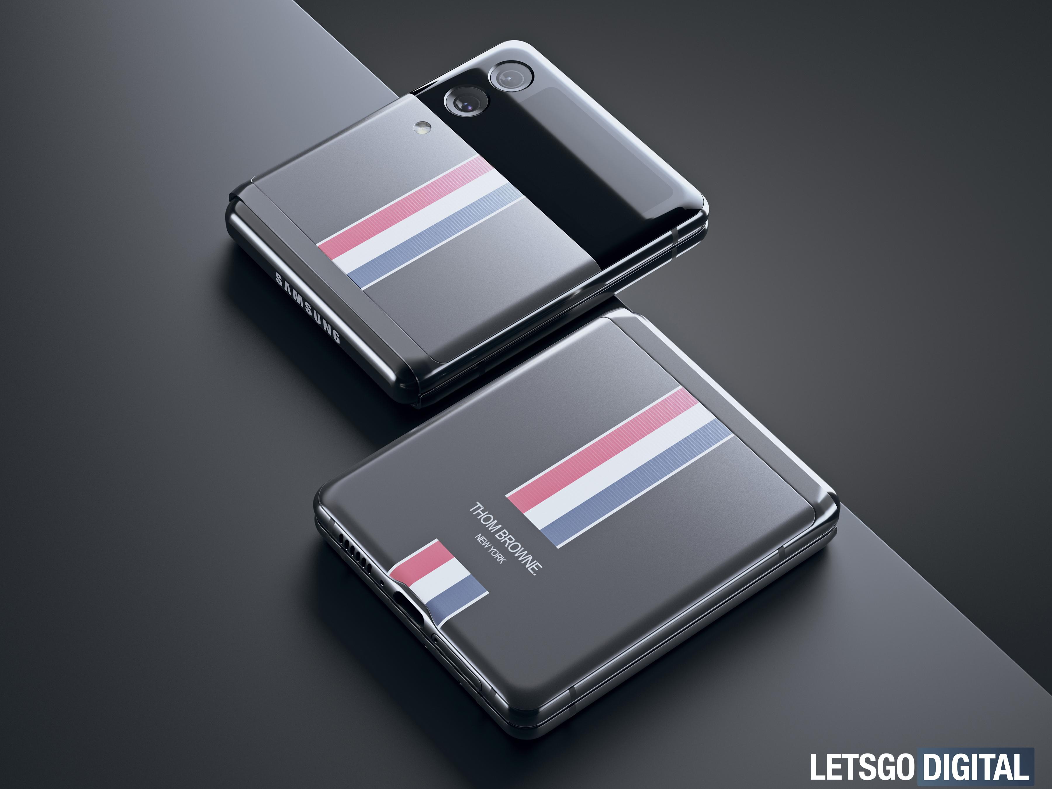 Samsung Galaxy Z Flip 3 Thom Browne