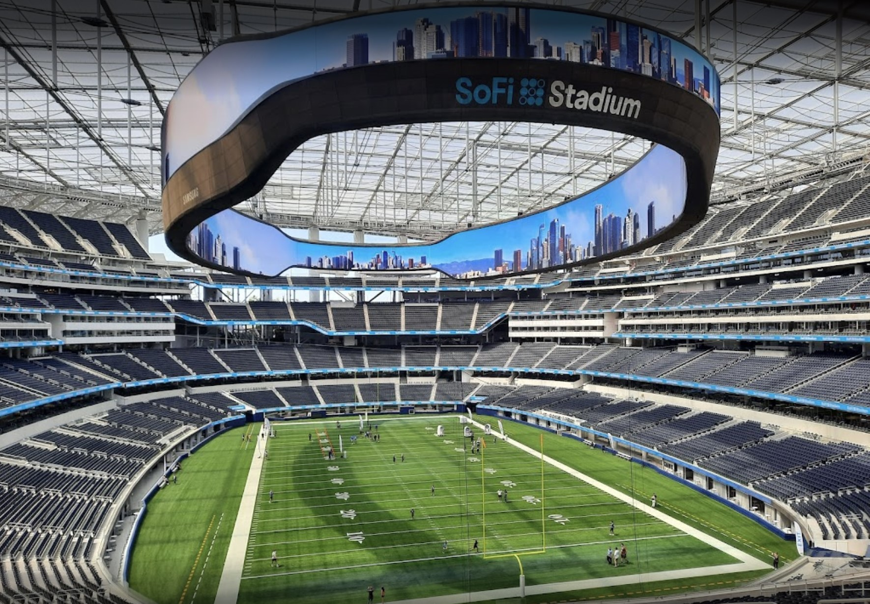 Samsung The Infinity Screen SoFi Stadium