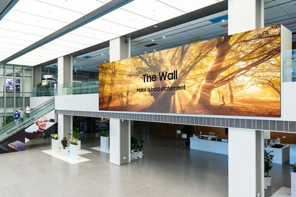 Samsung The Wall MicroLED TV 2021