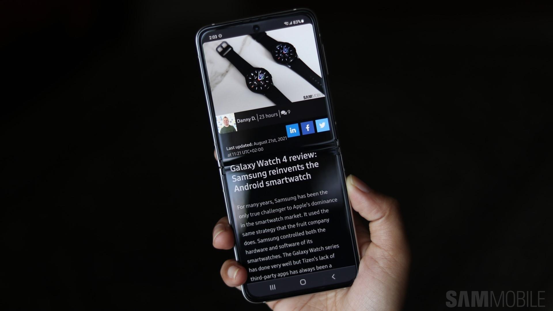 Samsung Galaxy Z Flip 3 review