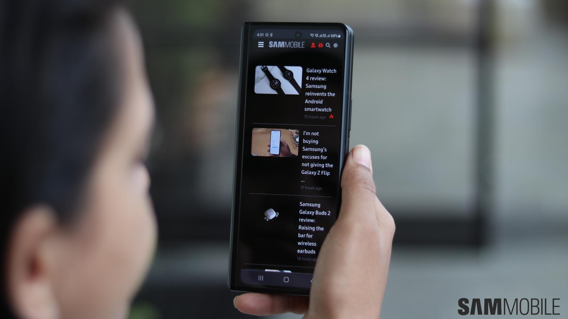 Galaxy Z Fold 3 review