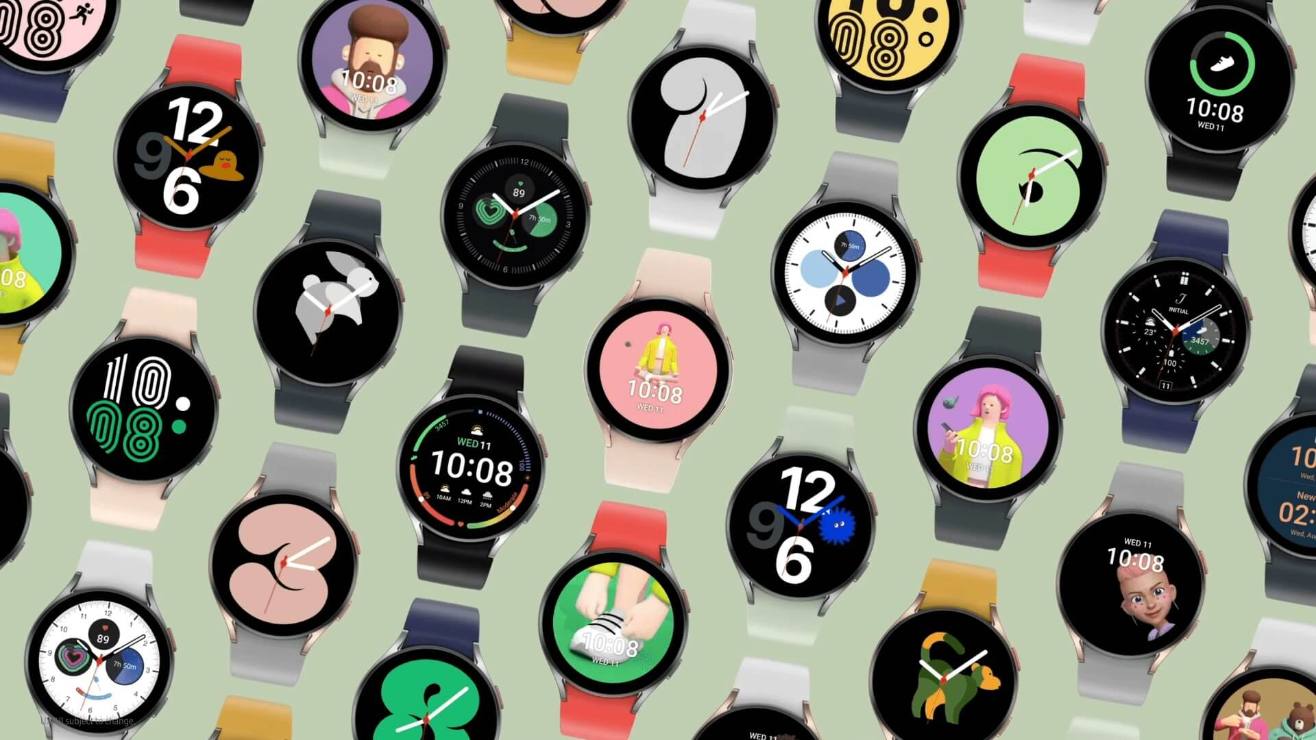 Cadrans de montre Samsung Galaxy Watch 4