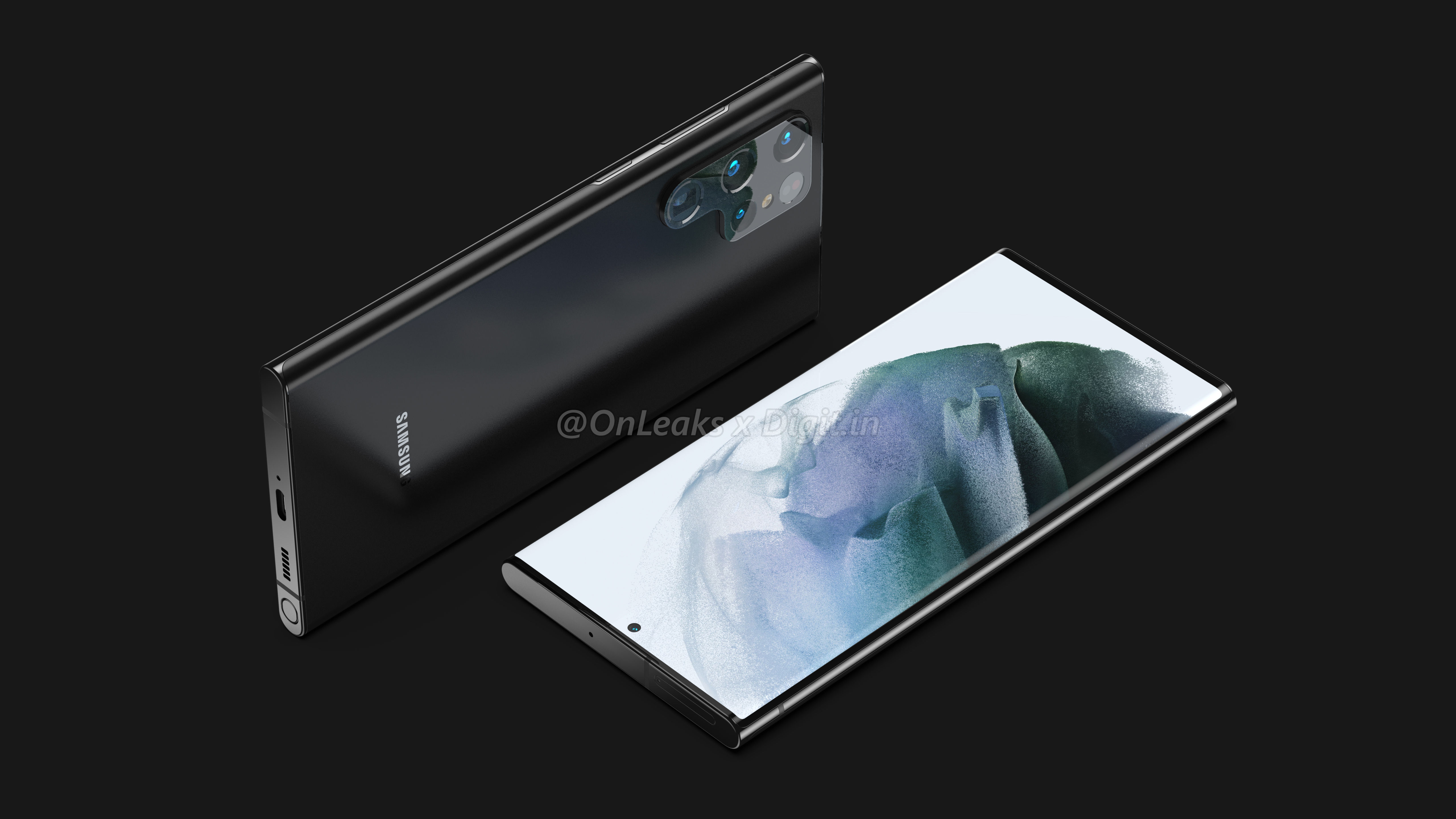 BREAKING: First Galaxy S22 Ultra renders are here! - SamMobile