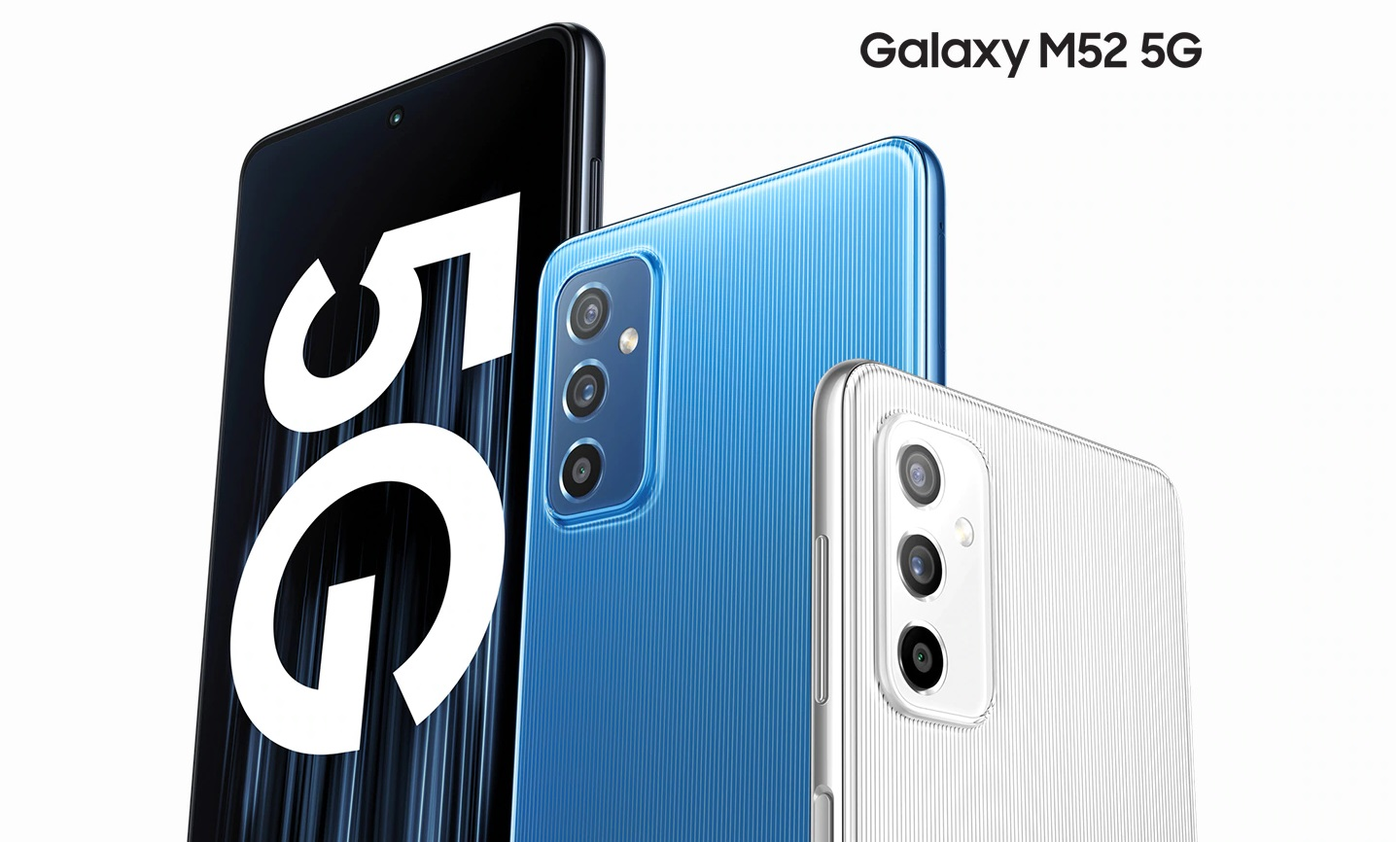 Galaxy M52 5G is official in Europe, doesn't have a 3.5mm port - SamMobile